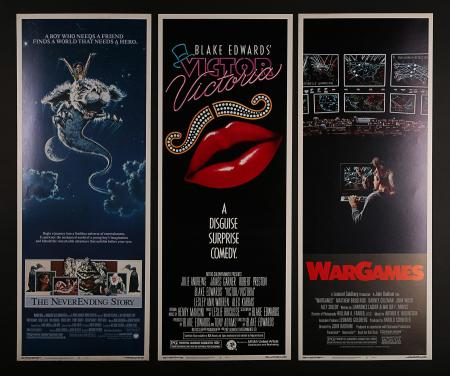 VARIOUS PRODUCTIONS (1968-1984) - Six US Insert Posters