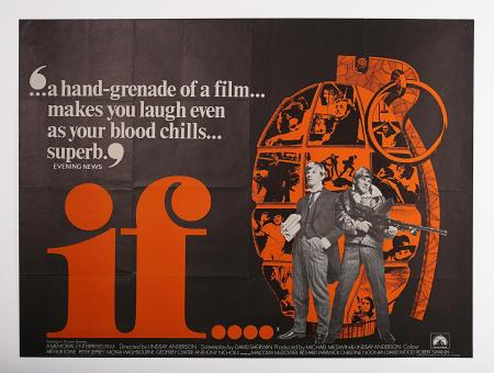 IF (1968) - UK Quad Poster