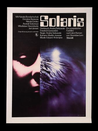 SOLARIS (1971) - East German Poster