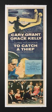 TO CATCH A THIEF (1955) - US Insert Poster