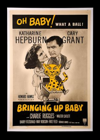 BRINGING UP BABY (1938) - US One-Sheet