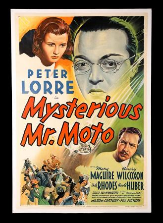 THE MYSTERIOUS MR. MOTTO (1938) - US One-Sheet Poster