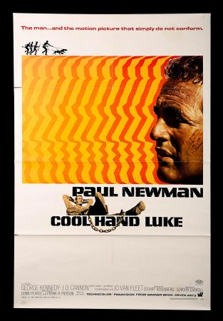 COOL HAND LUKE (1967) - US One-Sheet Poster
