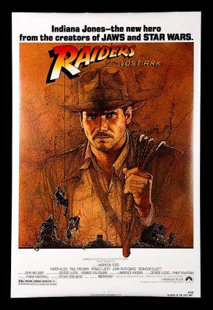 RAIDERS OF THE LOST ARK (1981) - US One-Sheet Poster