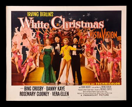 WHITE CHRISTMAS (1954) - US Half-Sheet Style-B Poster