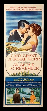 AN AFFAIR TO REMEMBER (1957) - US Insert Poster