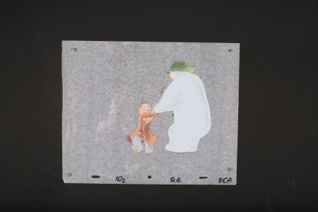 THE SNOWMAN (1982) - Painted Animation Cel