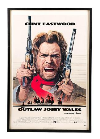 THE OUTLAW JOSEY WALES (1976) - US One-Sheet Poster