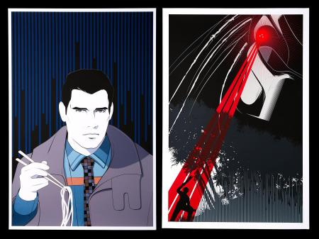 BLADE RUNNER (1982) AND PREDATOR (1987) - Two Mondo Posters