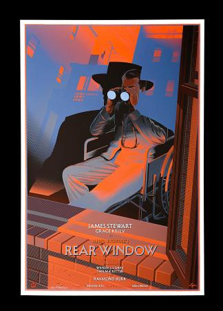 REAR WINDOW (1954) - Mondo Poster